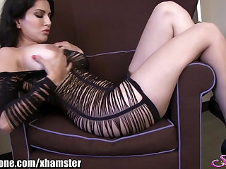 SunnyLeone Sunny Leone in a beautiful strip tease